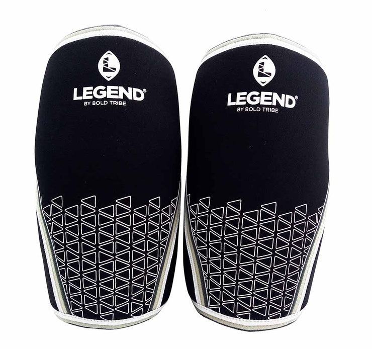 3 Pares Rodilleras Legend Neopreno 7mm + 6 Bonos