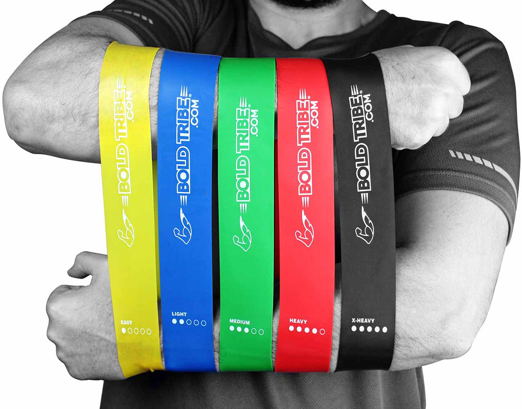 bandas de resistencia loop bands pierna yoga rodilleras crossfit legend 5mm 7mm