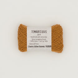 Temaricious brown temari thread