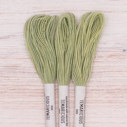 Temaricious embroidery thread green G6