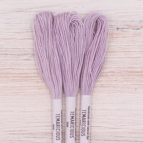 Temaricious embroidery thread purple P11