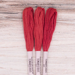 Temaricious embroidery thread red R1
