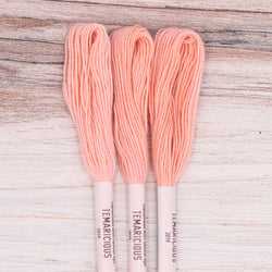 Temaricious embroidery thread R6 pink