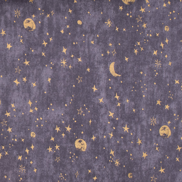 Trefle Moon and Stars - Cotton Double Gauze