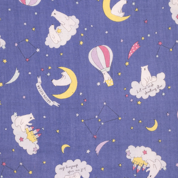 Kokka Trefle polar bear fabric