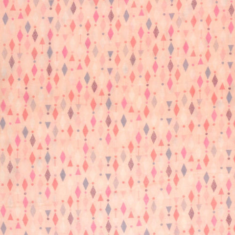 Fabric - Petite Diamonds (Pink) - Cotton Double Gauze