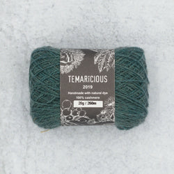 Temaricious cashmere yarn in green