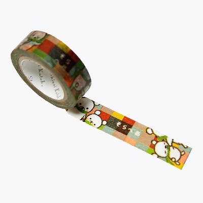Japanese masking tape by Shinzi Katoh - Sorabear colorful