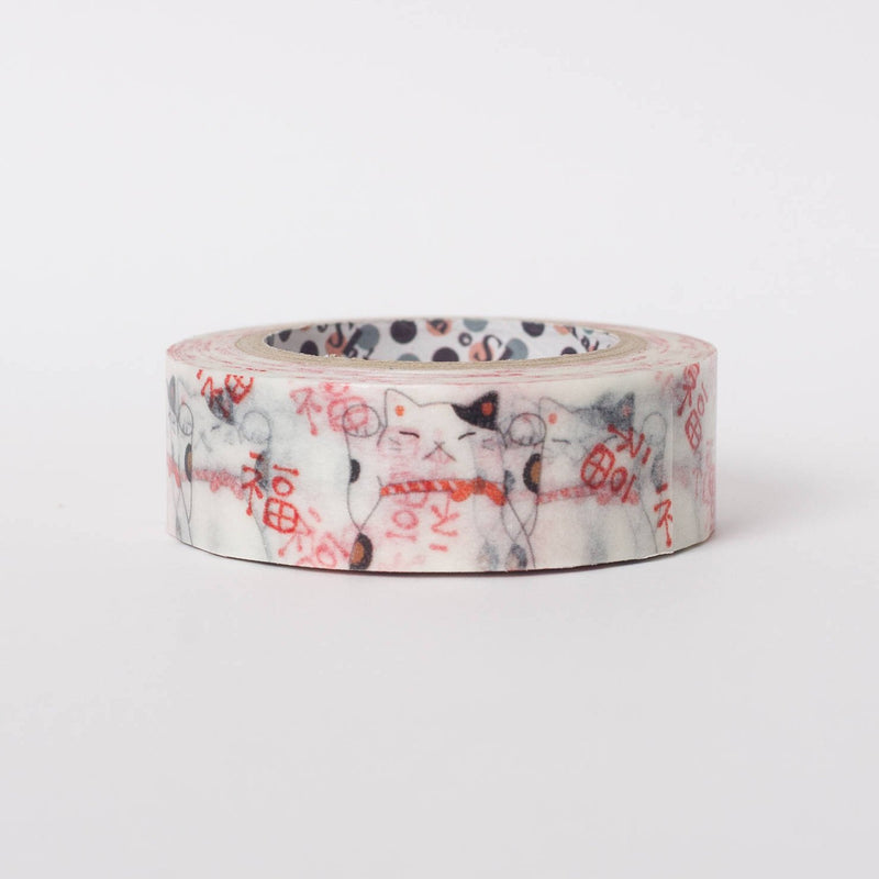 Japanese washi tape by Shinzi Katoh - Lucky Cat