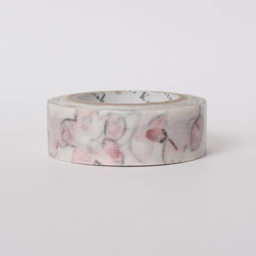 Japanese washi tape by Shinzi Katoh Cherry Blossom Bath