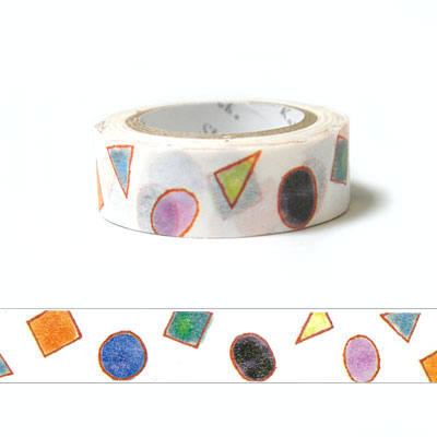 Kawaii washi tape - glass beads by Shinzi Katoh