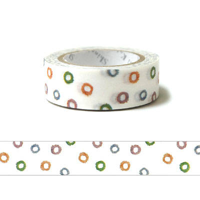 Kawaii Japanese washi tape - water by Shinzi Katoh