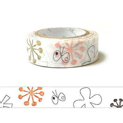 Kawaii Japanese washi tape - tefu tefu by Shinzi Katoh