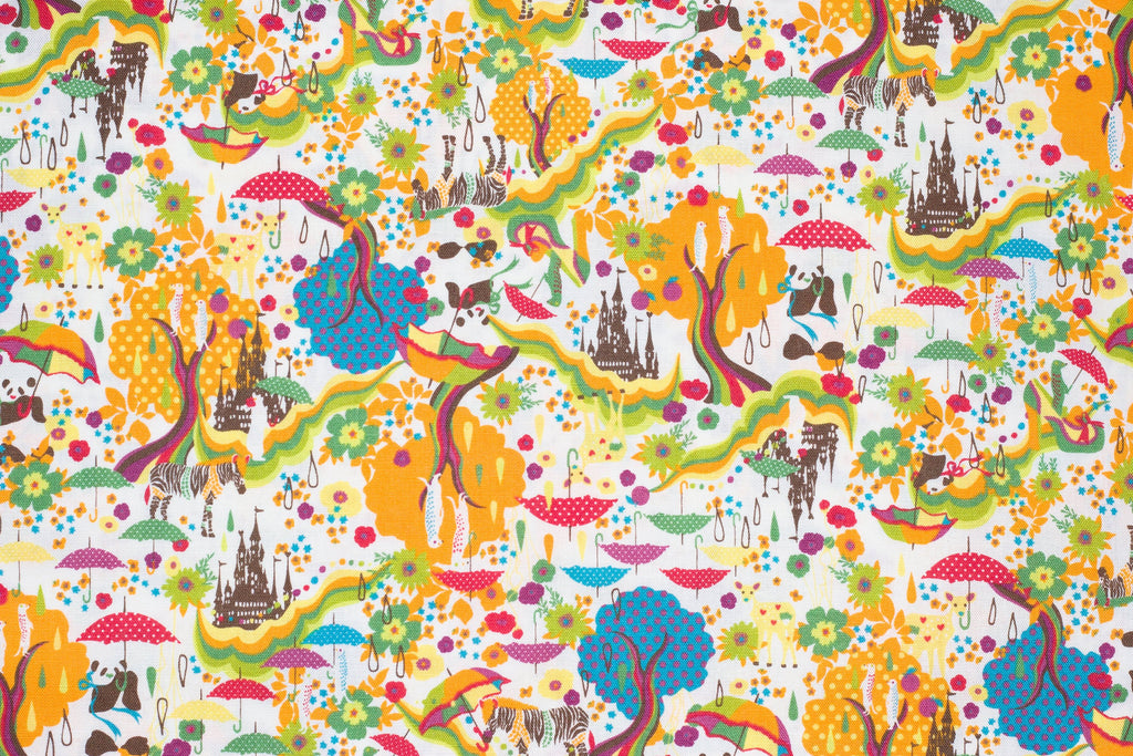 Japanese canvas fabric by Kayo Horaguchi for Kiyohara - 1/2 YD