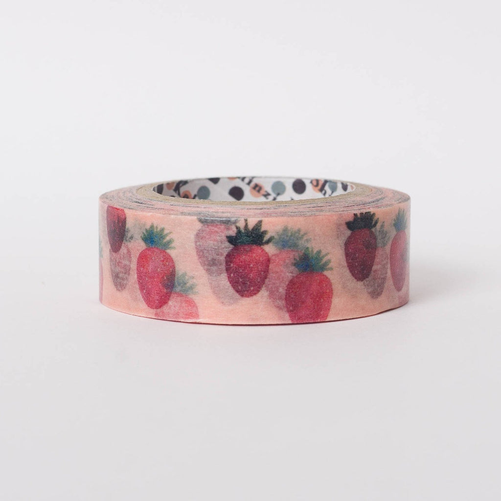 Japanese masking tape by Shinzi Katoh - Strawberries