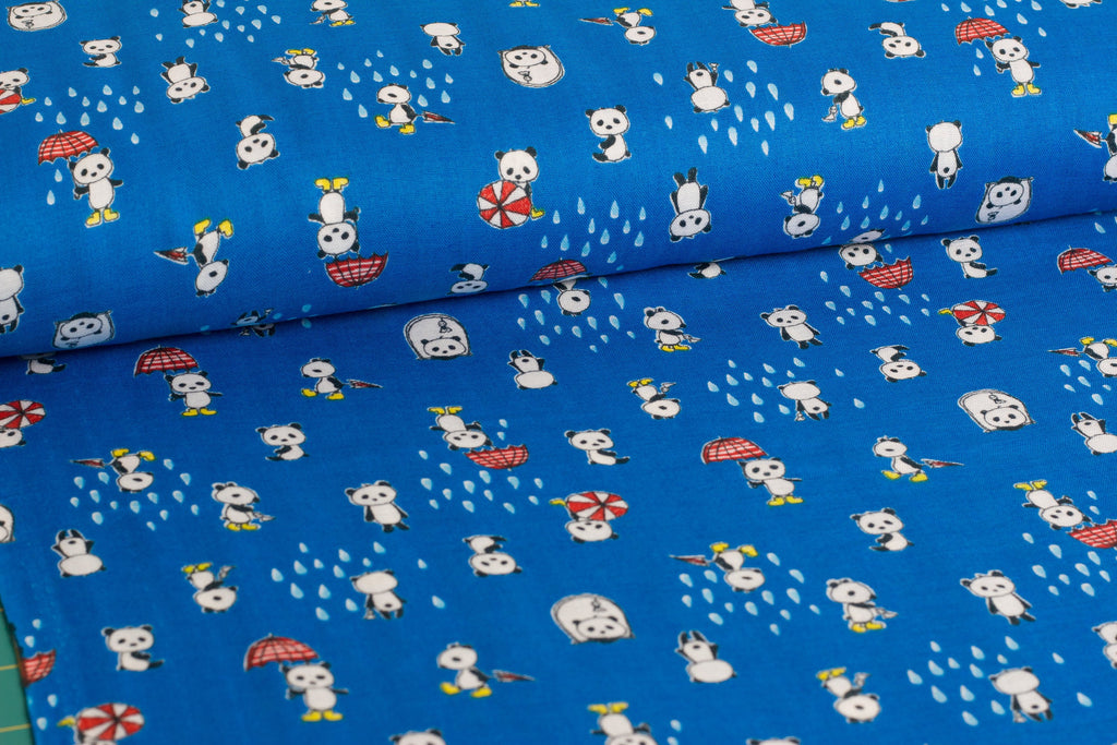 Kawaii Japanese double gauze fabric by Kobayashi - 1/2 YD