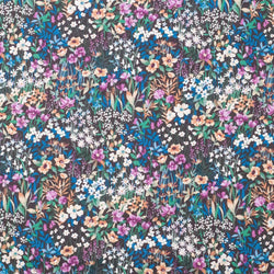 Japanese fabric - cotton lawn - floral fabric - Hokkoh Wonder Forest - 1/2 YD
