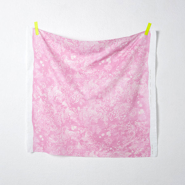 nani IRO Japanese double gauze fabric - Lei Nani J in pink - 1/2 YD