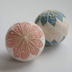Temari Ball Kit - Peach Blossom (Pink or Blue)