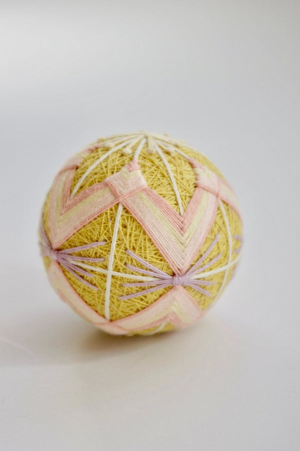 DIY temari ball kit by Temaricious - Flower