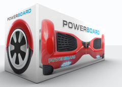UL 2272 Certified Safe - Powerboard® by HOVERBOARD® – Red