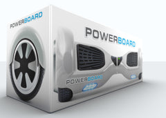 UL 2272 Certified Safe - Powerboard® by HOVERBOARD® – White