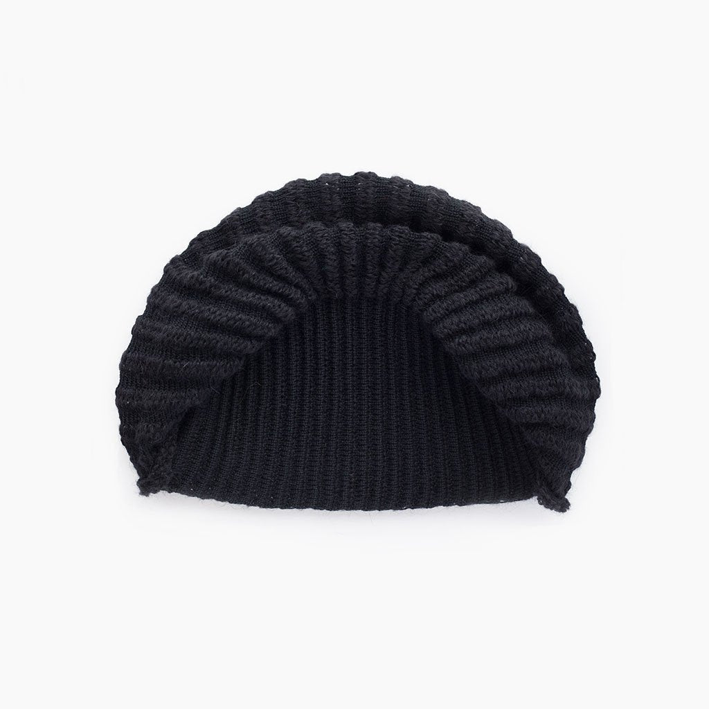 Cauliflower Hat - Black