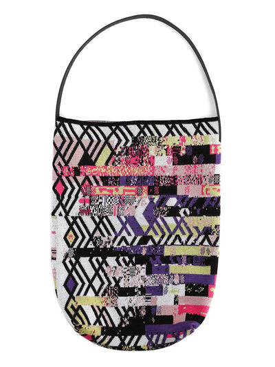 Knitted Bag - Art Deco Glitch