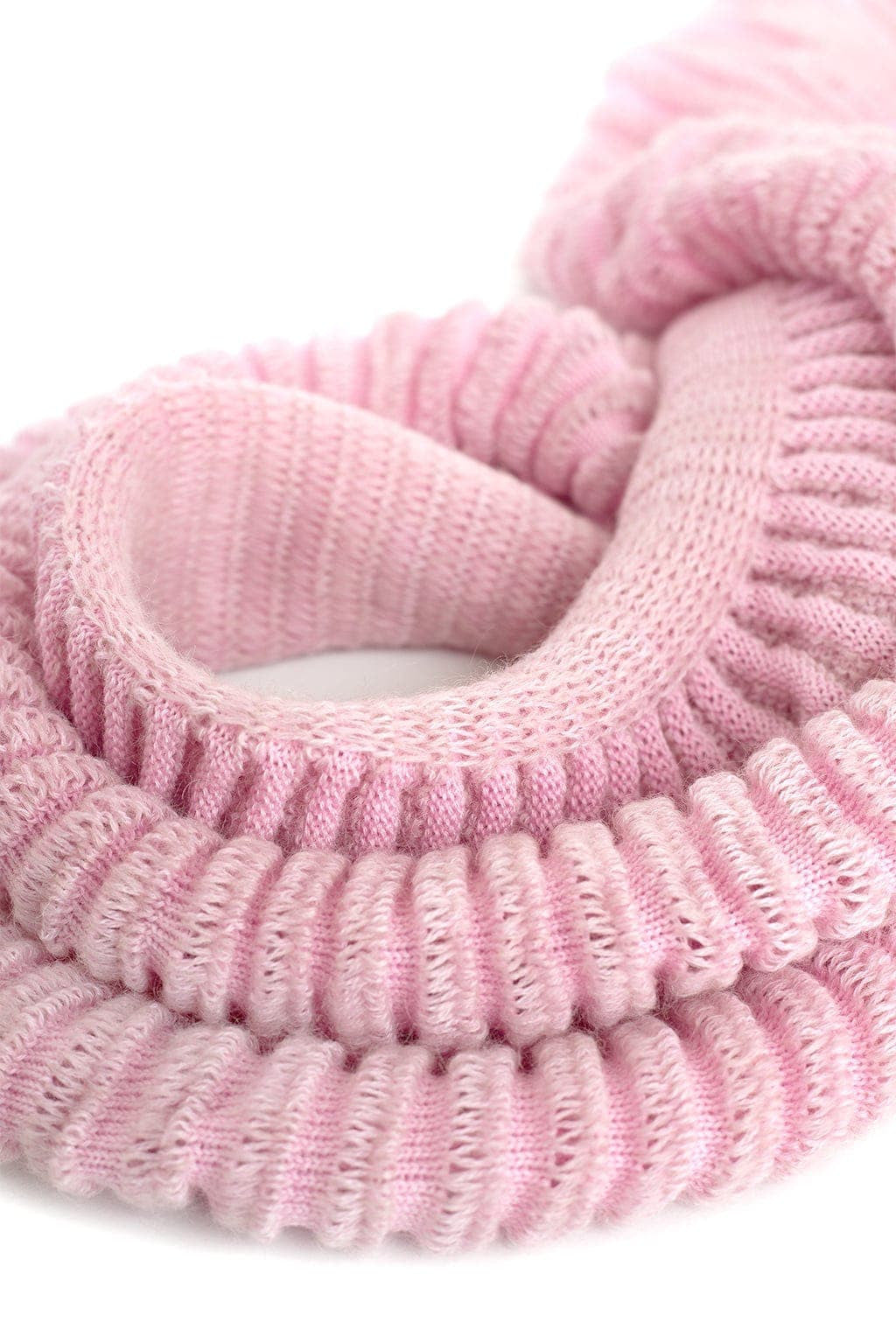 Cauliflower Scarf - Candy Pink