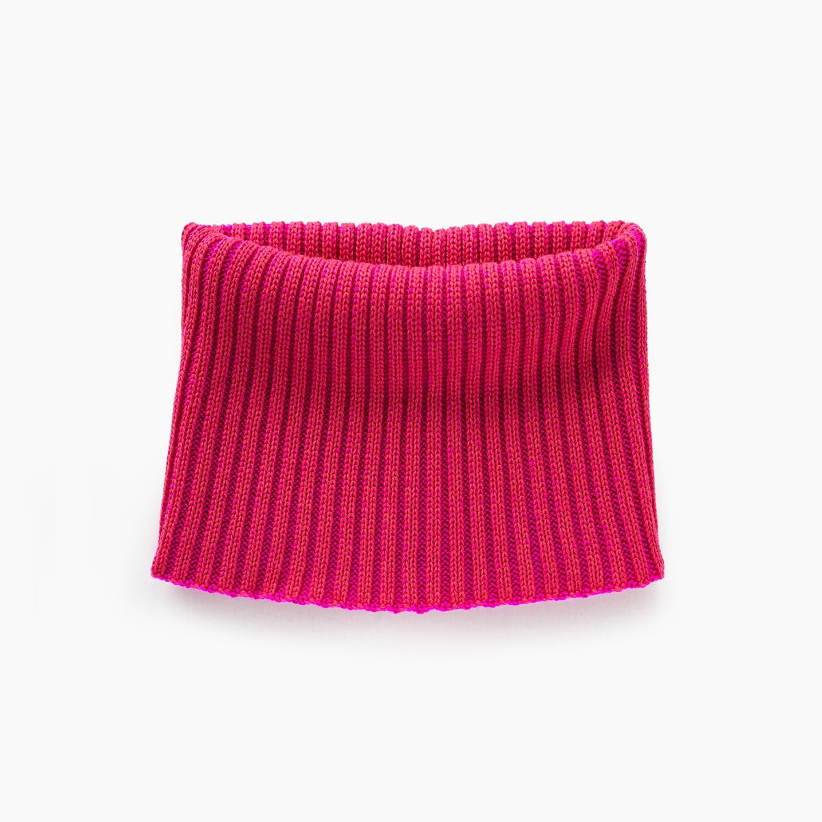 Neck Scarf - Hot pink & Salmon