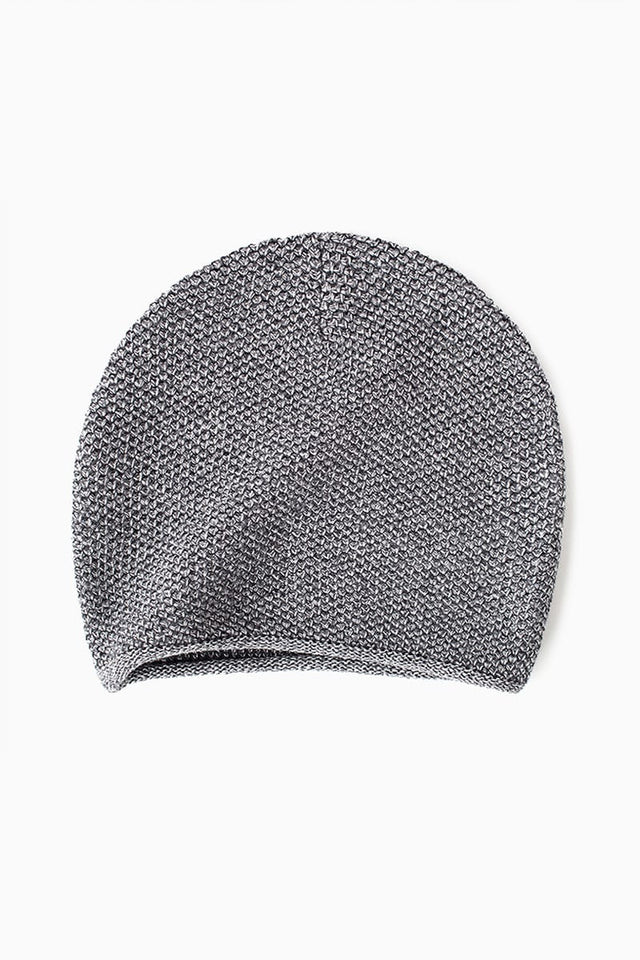 Knit Beanie - Grey Mouline