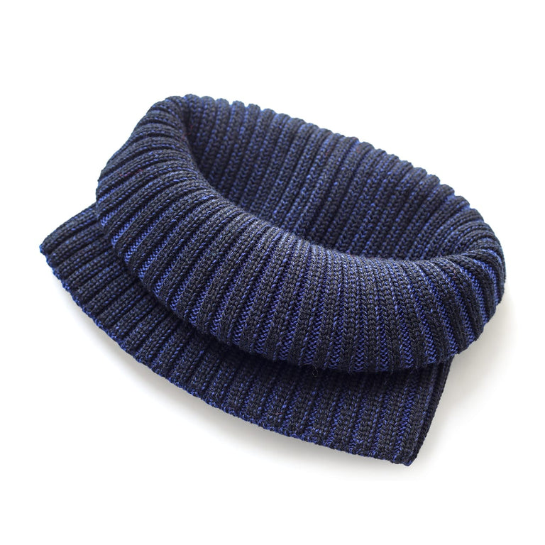 Neck Scarf - Black & Blue