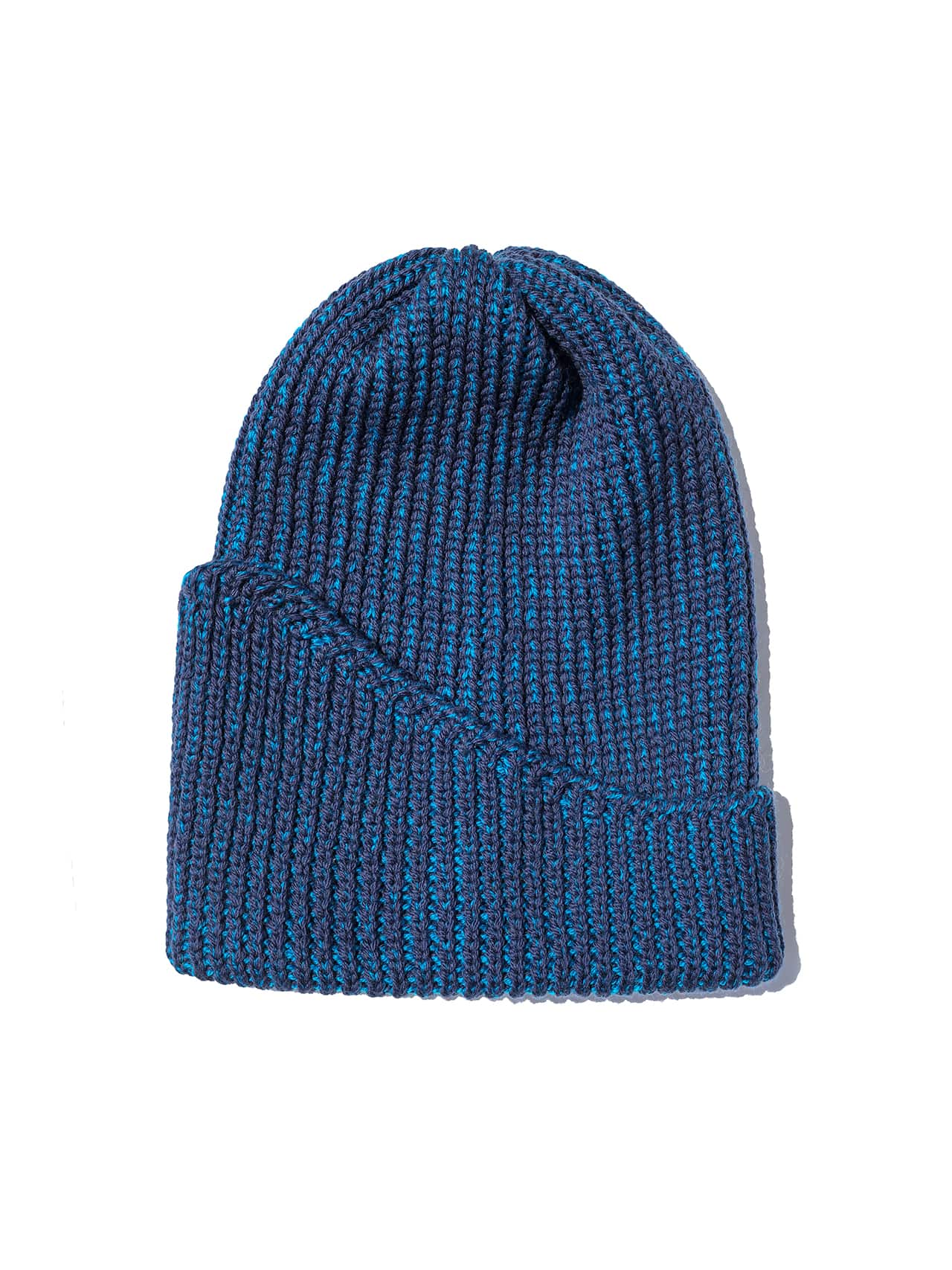 Reshaped Beanie merino - Electric Blue