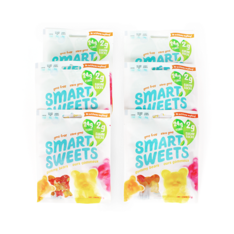 Fruity Low Sugar Gummy Bears - Half BOX (6 bags)