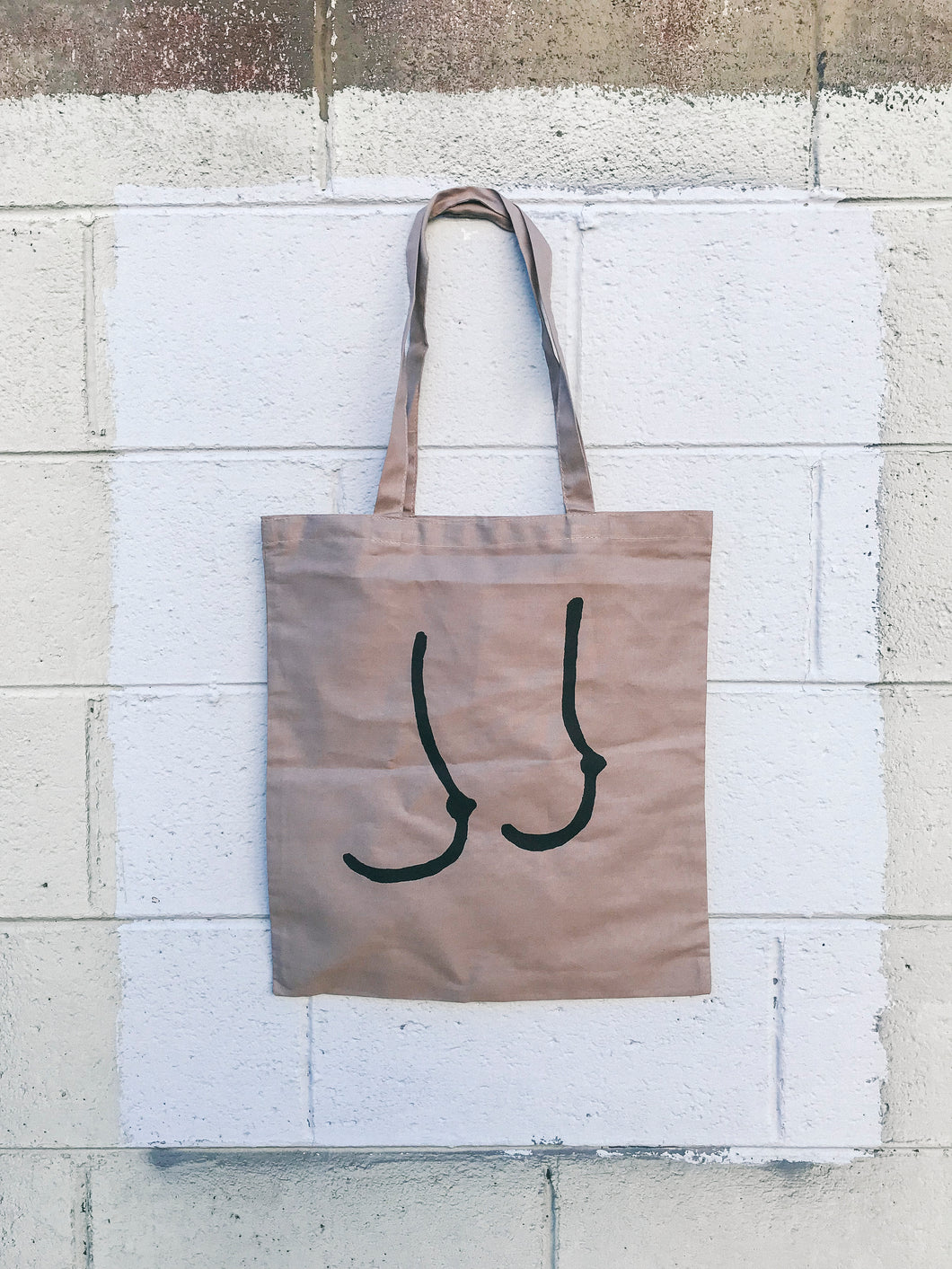 SHOP TATAS X THREADBARE Titty Tote Bag