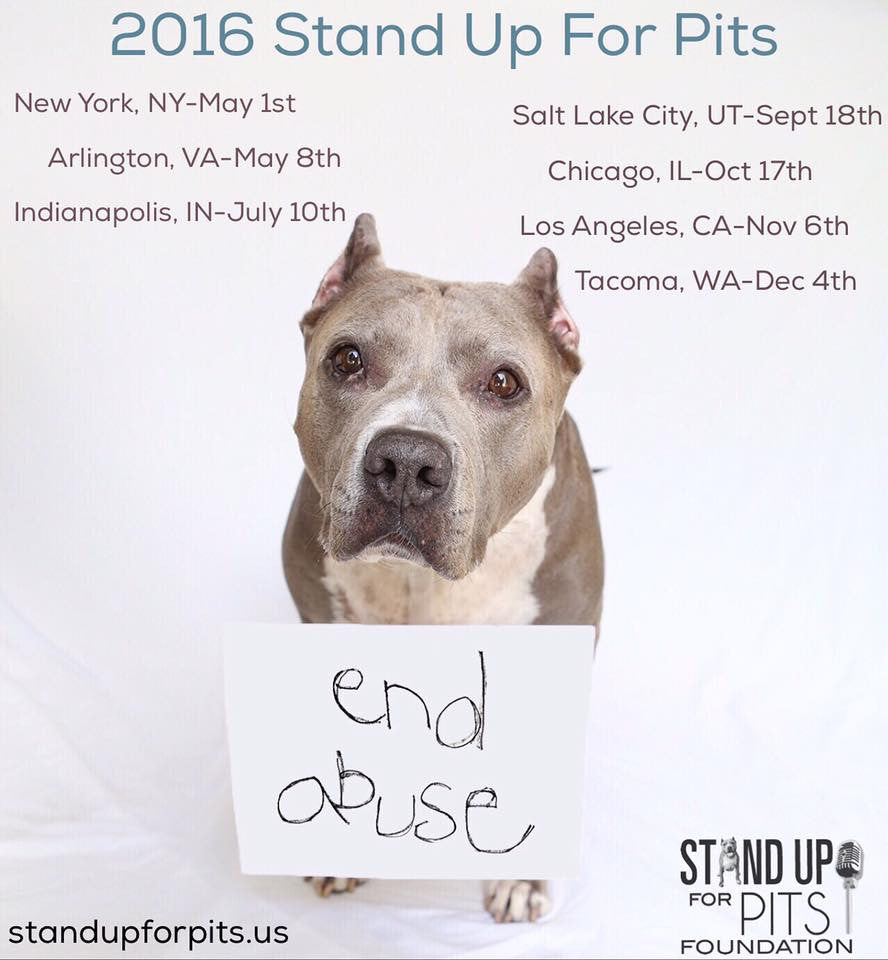 2016 Stand Up For Pits tour dates ANNOUNCED!!