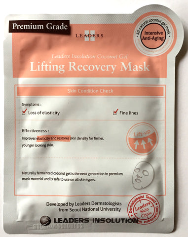 Leaders Coconut Gel Lifting Recovery Mask