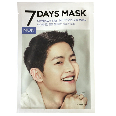 FORENCOS 7 DAYS SILK MASK (VARIOUS)