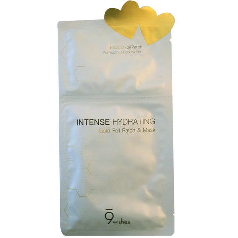 9 WISHES INTENSE HYDRATING GOLD FOIL PATCH & MASK