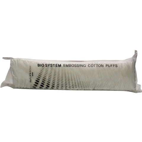 FROM NATURE BIOSYSTEM EMBOSSING COTTON PUFFS
