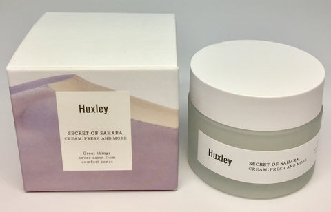 Huxley Secret of Sahara Cream ; Fresh and More