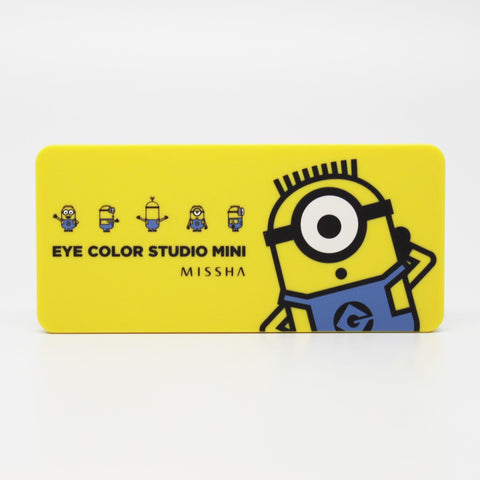Missha Minion Eye Shadow Palette (Brown)