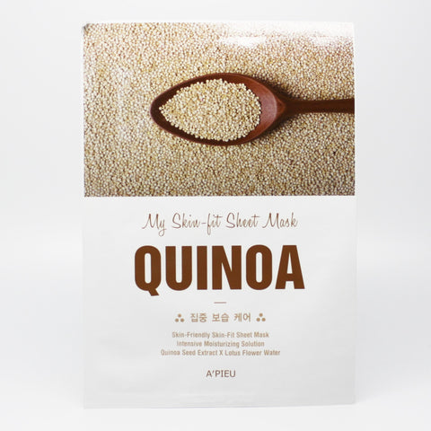 A'pieu My Skin-Fit Quinoa Sheet Mask