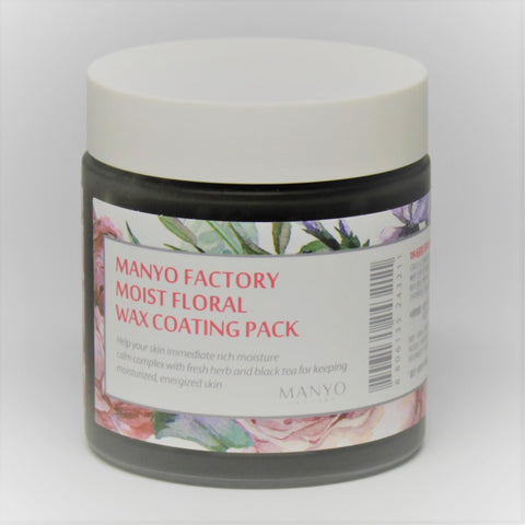 Manyo Factory Moist Floral Wax Coating Pack