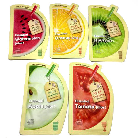 FLOR DE MAN JUICE SHEET MASK (VARIETY OF FLAVORS)