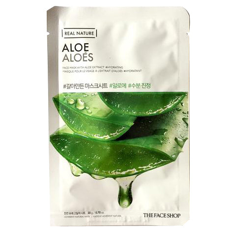 THE FACE SHOP REAL NATURE ALOE MASK