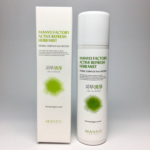 Manyo Factory Active Refresh Herb Mist
