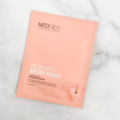 NEOGEN DERMALOGY PROBIOTICS RELIEF MASK
