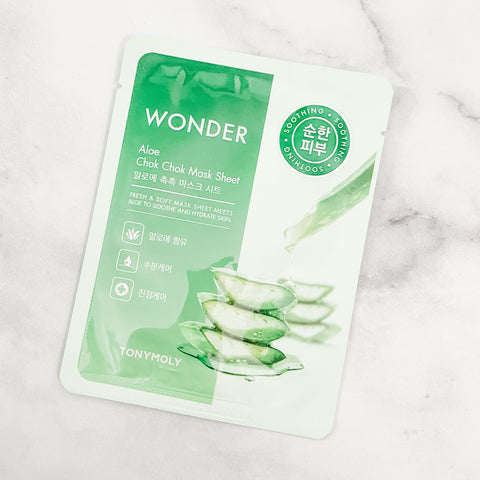 TONY MOLY ALOE CHOK CHOK MASK SHEET
