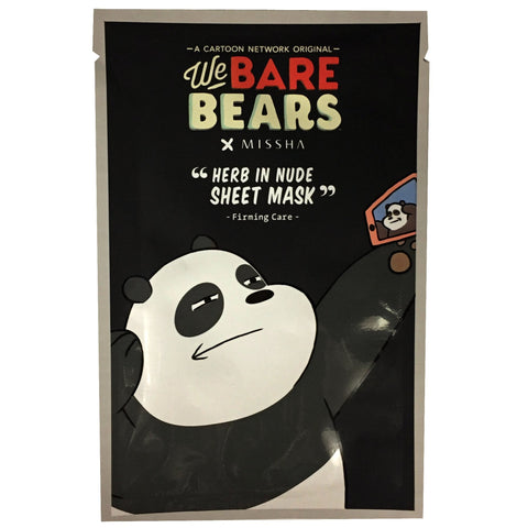 WE BARE BEARS x MISSHA SHEET MASK (VARIOUS)